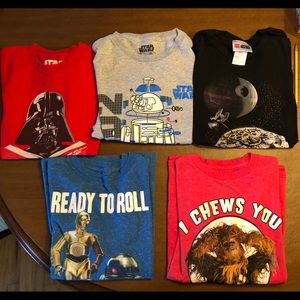Star Wars tee shirts